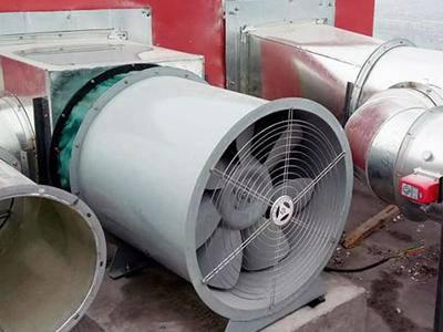 排烟风机安装案例
