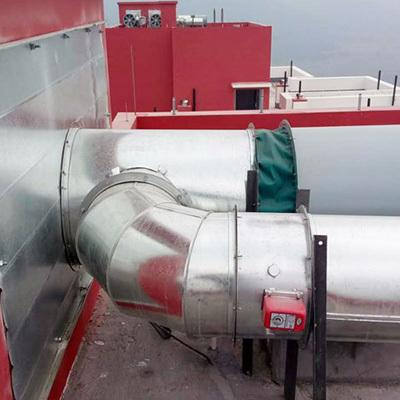 风机安装案例