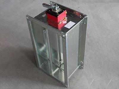 280度电动排烟防火阀安装在什么地方
