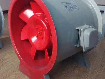 高温消防排烟风机安装使用