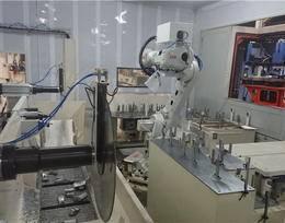 震砂-切断自动化清理单元