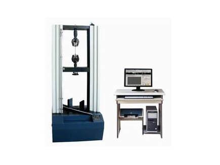电子万能试验机在常州嘉恒橡塑公司安装完成