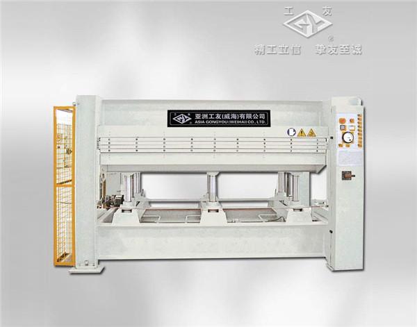 BY214×8 10(3) HRC-A1 100噸3層熱壓機