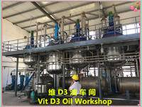 熱烈祝賀公司維D3油車間正式投產